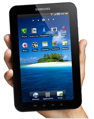 Samsung Galaxy tablets given to select prospectivestudents