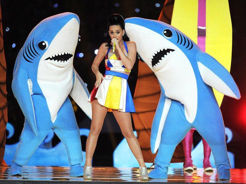 Katy Perry rocks Super BowlXLIX