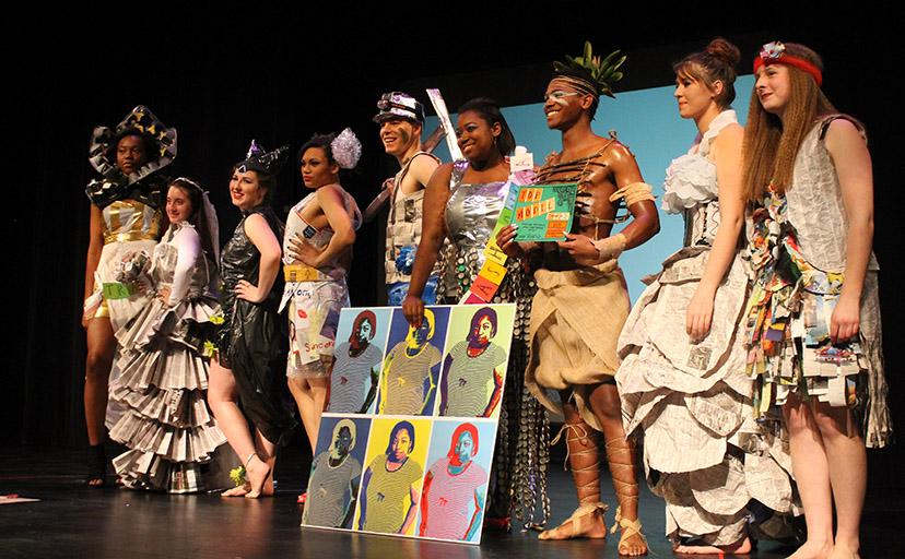Bonas Gets Trashy: Trashion Fashion2015
