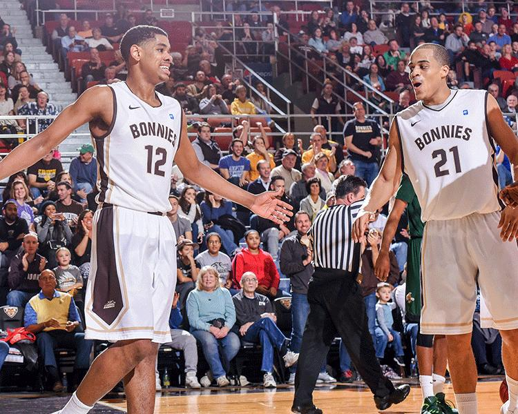Men's basketball: Bonnies get physical, shut down Spiders in 84-68 win