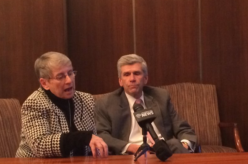Sr. Margaret Carney discusses departure fromSBU