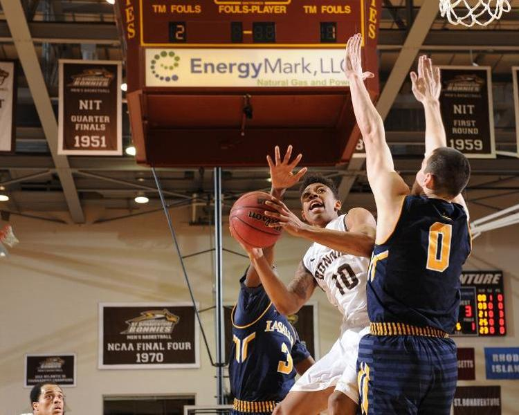 Men's basketball: Bonnies travel to George Mason