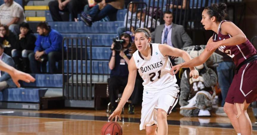 Women's basketball: Bonnies get back to winning ways, defeat St.Joe's