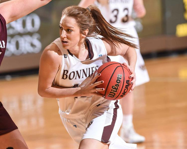 Women's basketball: Consistent Healy leads Bonnies against struggling Spiders