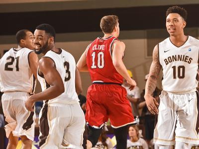 Men's basketball: Bonnies host George Washington in Alumni Weekendshowdown