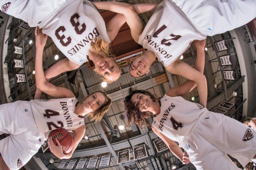 Women's basketball: Bonnies celebrate seniors, battle league-leadingDuquesne