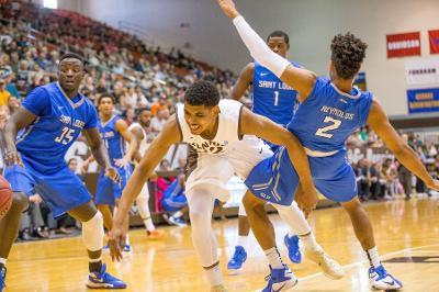 Men's basketball: Bubble burst? Bonnies suffer stunning loss to LaSalle