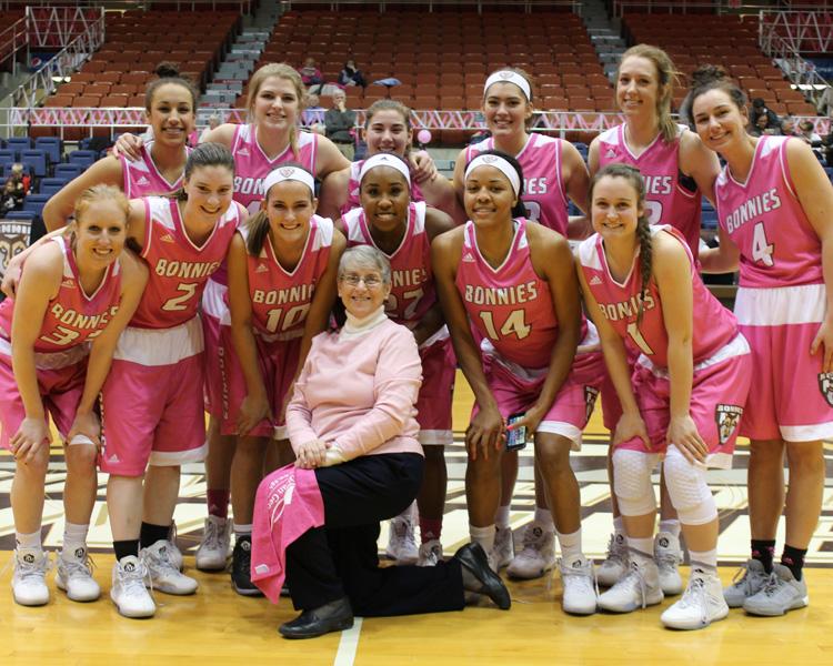 Women's basketball: Drummond returns, Bonnies bounceBillikens