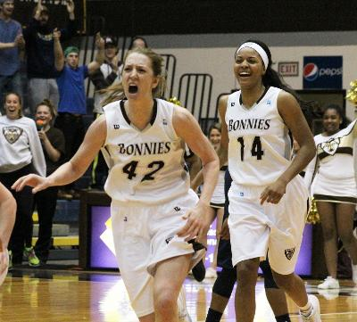 Women's basketball: Bonnies come back from as much as 17 to best George Washington