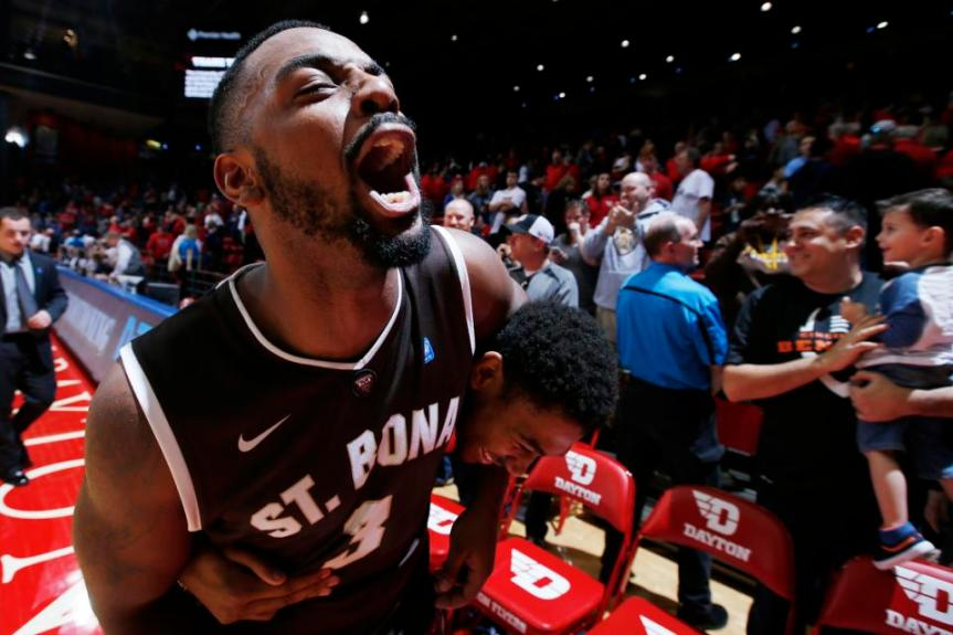 Men's basketball: Bonnies are A-10 regular season co-champions, three-seed in Brooklyn