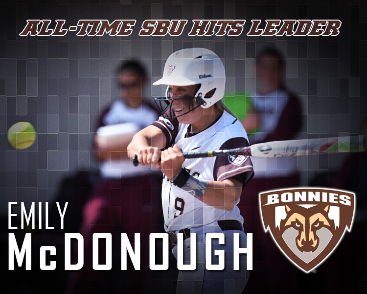 Softball: McDonough sets Bonnies' career hits record