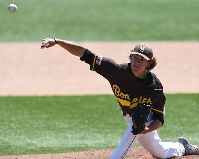Baseball: Another draft selection adds to Bona's rise