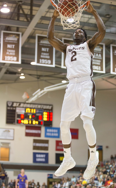 Men's basketball: Bonnies take care of business in exhibitionromp