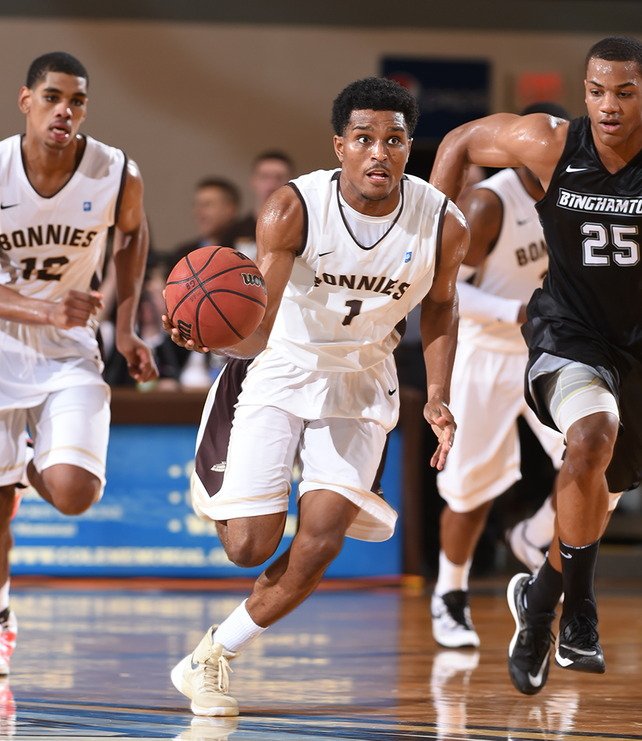"Men's basketball: For Bonnies, Taqqee is ultimate ""glue guy"""