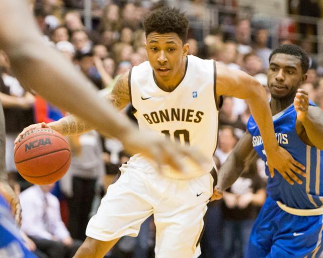Men's basketball: Adams and Gibbs form intriguing, respectfulrivalry