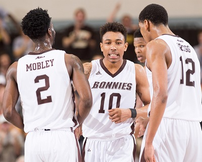 Men's basketball: Bonnies head to Rhode Island for major roadtilt