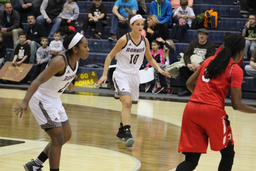 Women's basketball: Britvar and Maycock lead charge, Bonnies win thirdstraight