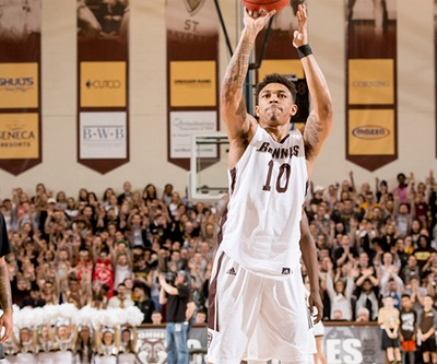 Men's basketball: Bonnies and Colonials conclude wild week with Saturday matchup