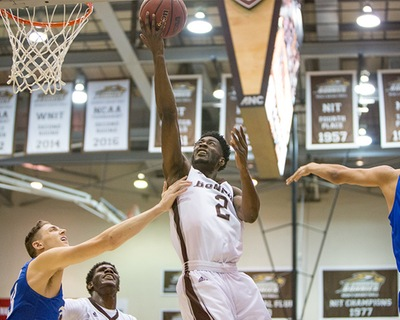 Men's basketball: Adams and Mobley get microwave hot, Bonnies bestBillikens