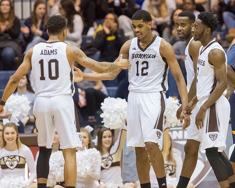 Men's basketball: Bonnies overcome pesky Dukes, complete seasonsweep