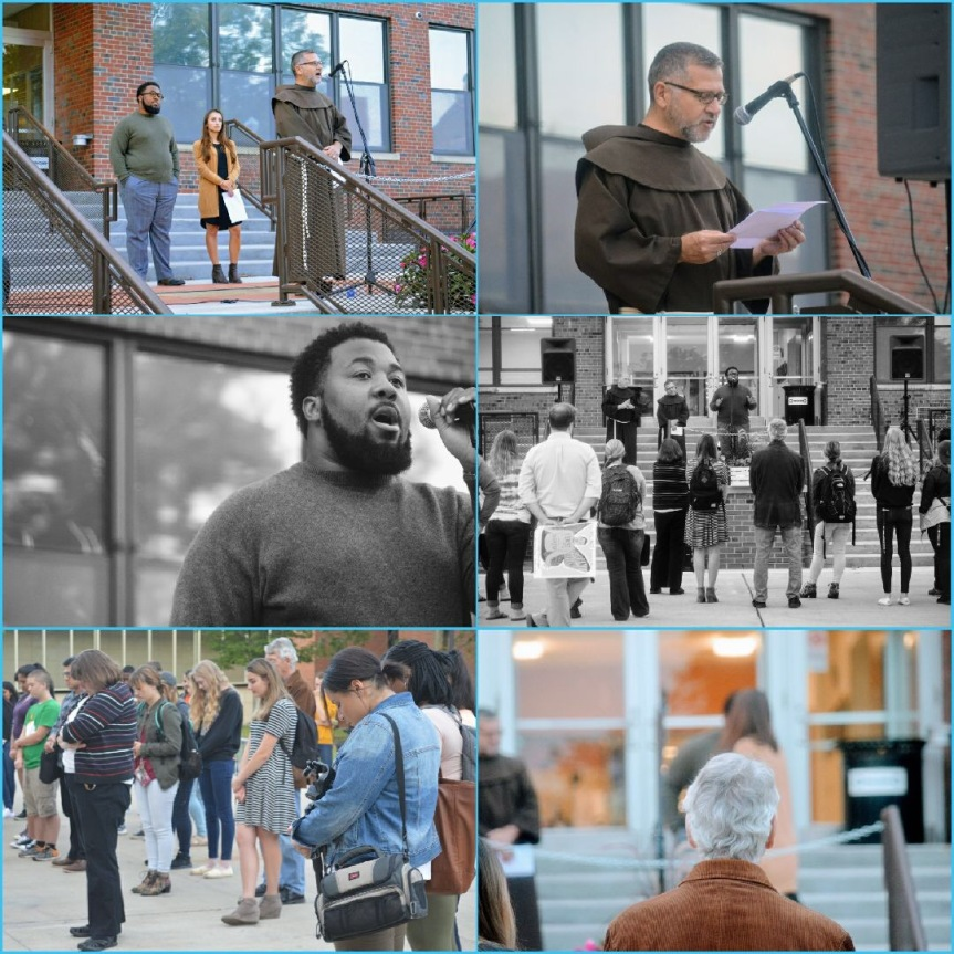 St. Bonaventure community shows support for DACA: a photoseries
