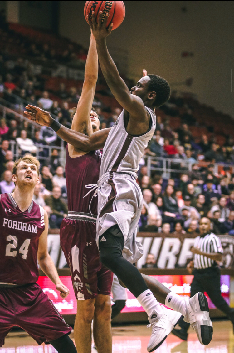 Rams Overpower Bonnies Late For 87-73Defeat