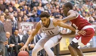 Bonnies Split Season Series With St. Joe's In 70-67 Win