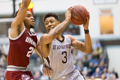 Bonnies Keep Conference Streak Alive with Tenth Win Against VCU 68-63