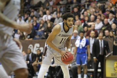 Bonnies clinch 2-seed with 12th straight win