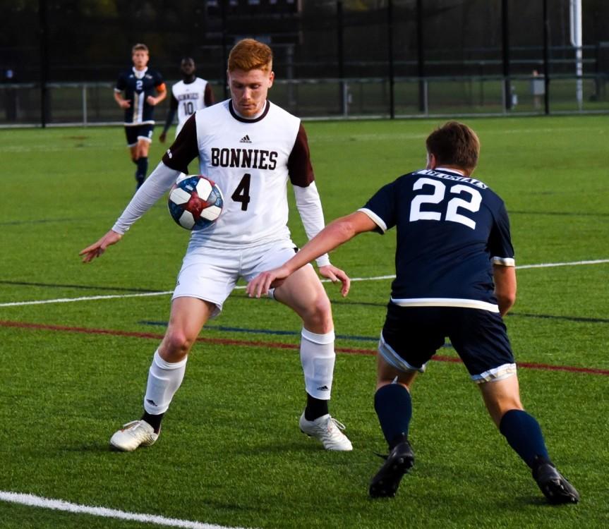 Men's soccer falls short to GW athome