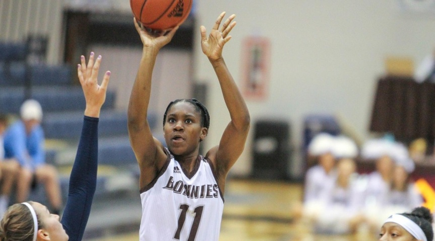 Bona women fall to Akron, 63-54