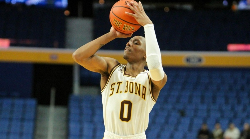 Bonnies fall to Canisius in Buffalo
