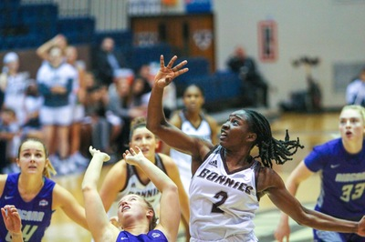 Bona women come back to beat Niagara in OT