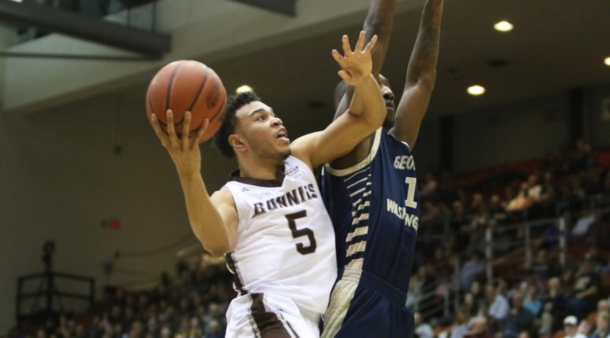 Bonnies roll past George Washington