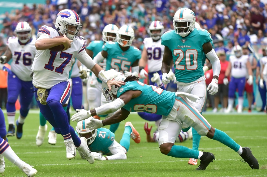 NFL WEEK 2 COLUMN: Allen leads Bills, Chargers can't finish, league fines coaches for mask violations