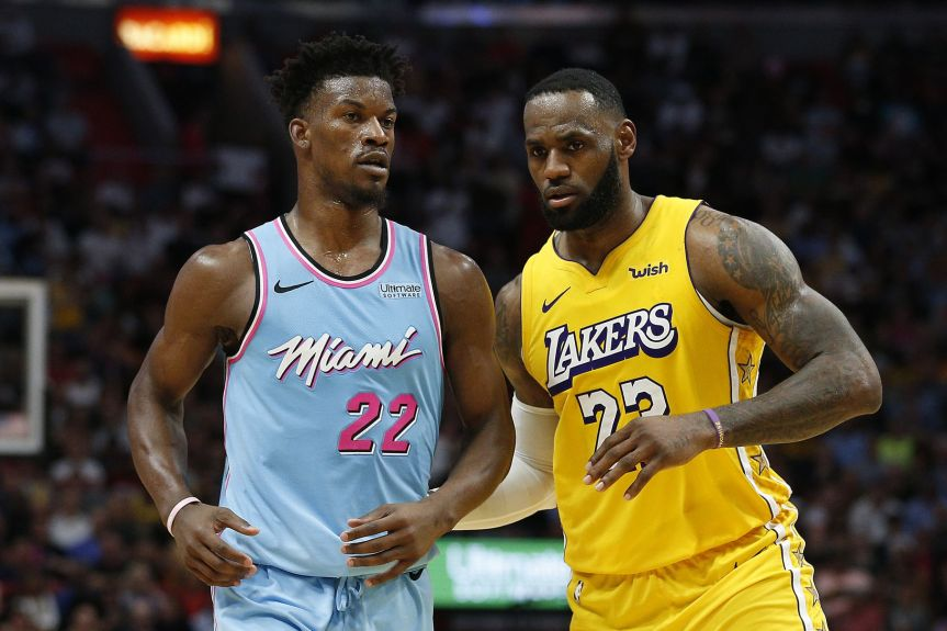NBA Finals preview: No. 1 Lakers take on No. 5Heat
