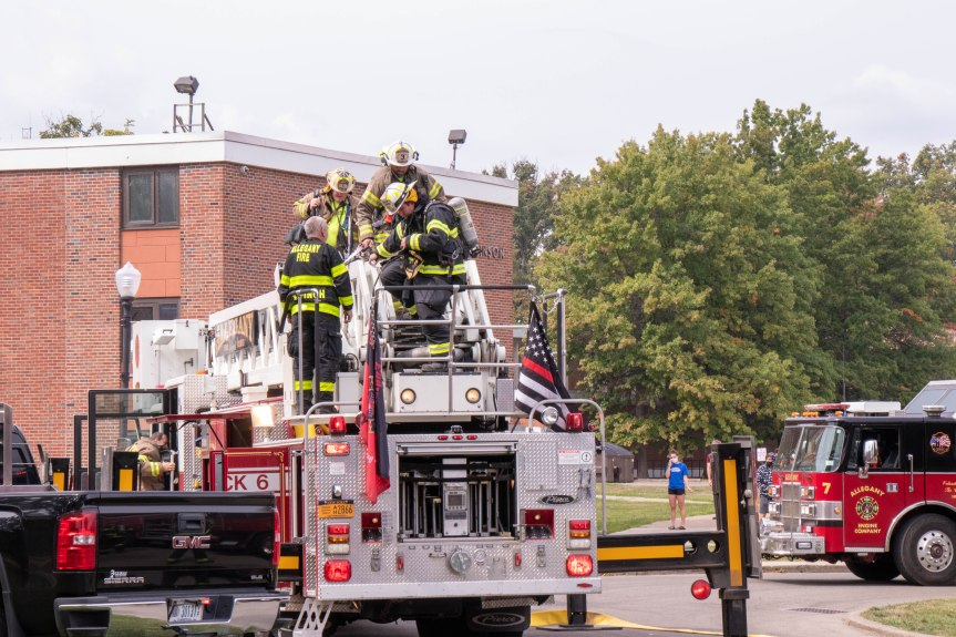 Firefighters respond to smoke at FalconioHall