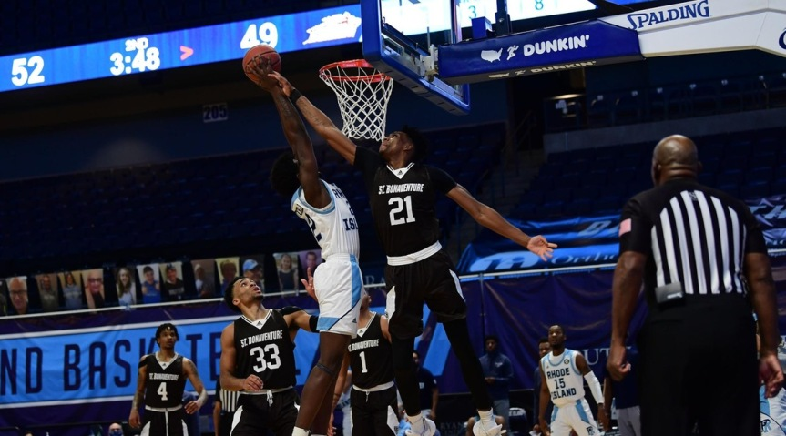 Bona fades late, opens A-10 play with loss at Rhode Island