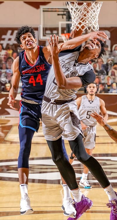 PREVIEW: Bonnies prep for rematch vs. Duquesne; seek sixth-straight A-10 win