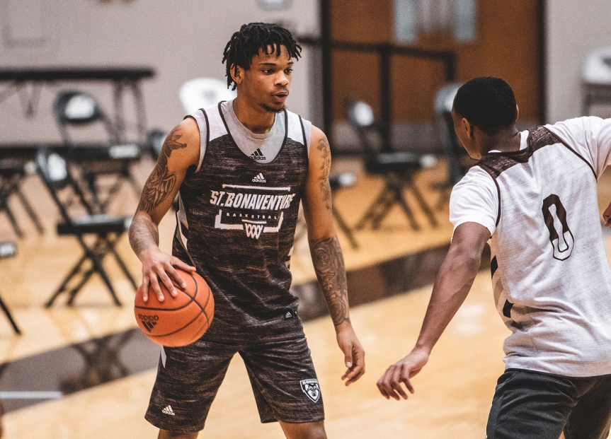 UPDATE: Holmes named A-10 player of the week; Bonnies to play at Fordham on Wednesday after GWcancelation