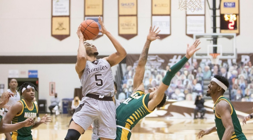 Bonnies cruise past George Mason; continue best A-10 start in program history