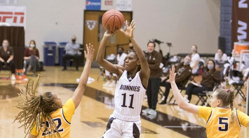 Bona women fall to Dayton at home