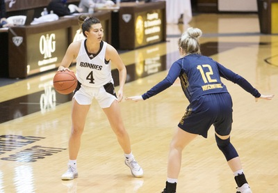 Bona women close out La Salle for first A-10win