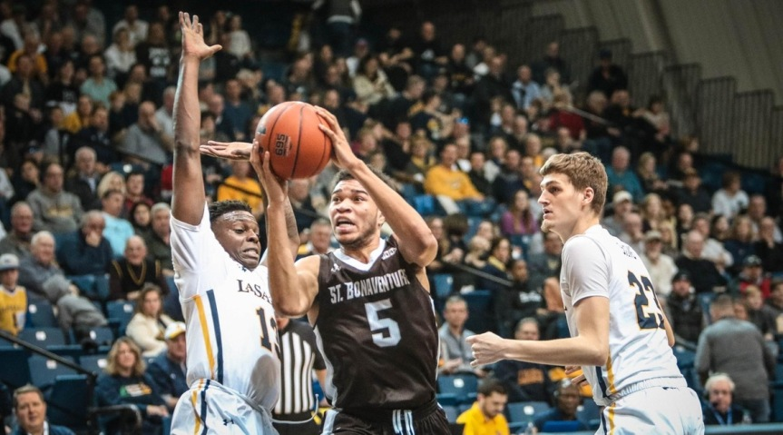 PREVIEW: Bonnies host La Salle; look to rebound from SLU loss