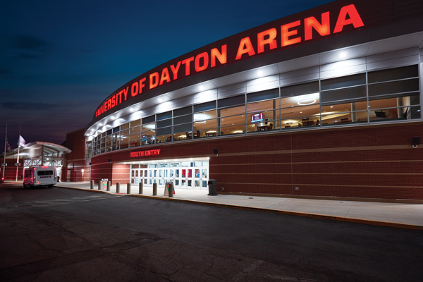 Bona fans travel to Dayton for A-10 final