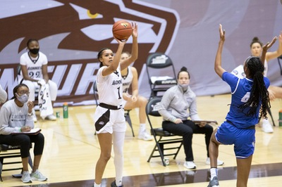 WBB: Bonnies fall to Davidson in first round of A-10 tournament